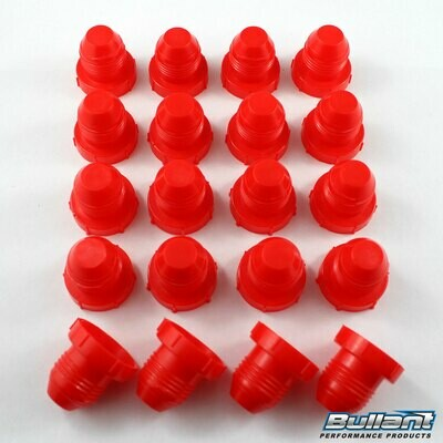 -8 AN Plastic Plug Kit - 20 Pack