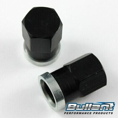 Sprintcar Rear End Gear Cover High Nuts - 2 Pack