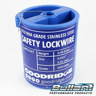 Stainless Steel Safety Lockwire Spool - .81mm (.032