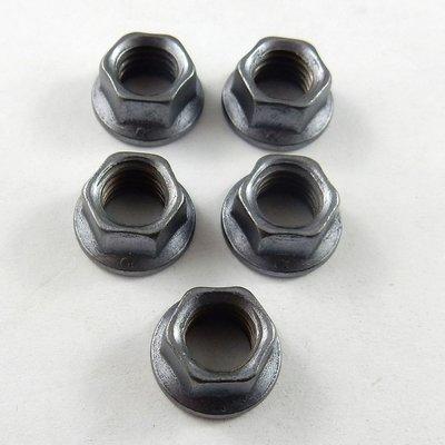 M8 Jet Nuts - Lightweight Steel - 5 Pack