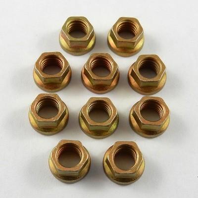 #10-32 UNF Jet Nuts - Lightweight Steel - 10 Pack