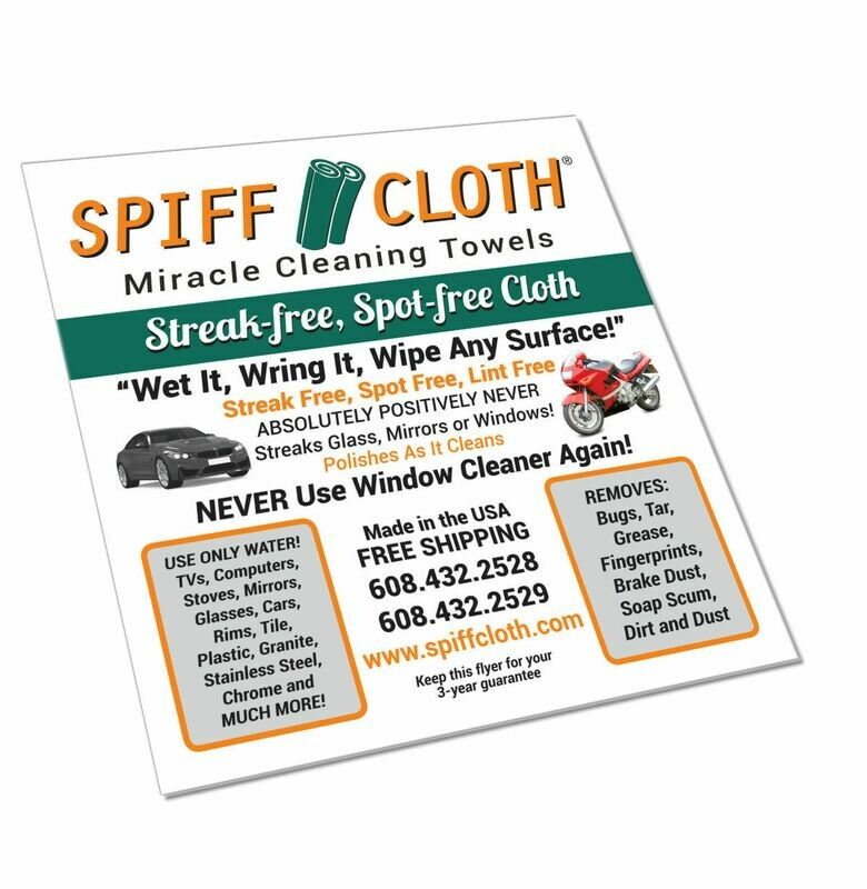 1 Pack Spiff Cloth