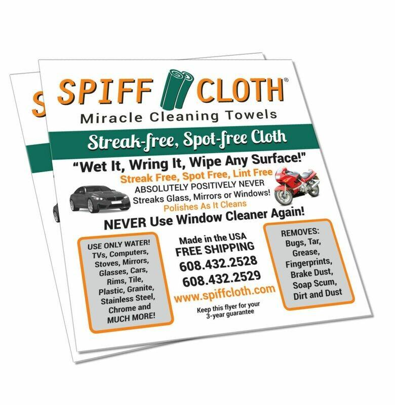2 Pack Spiff Cloth