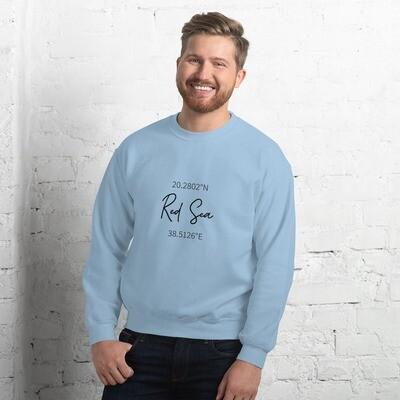 Men's Red Sea Sweatshirt