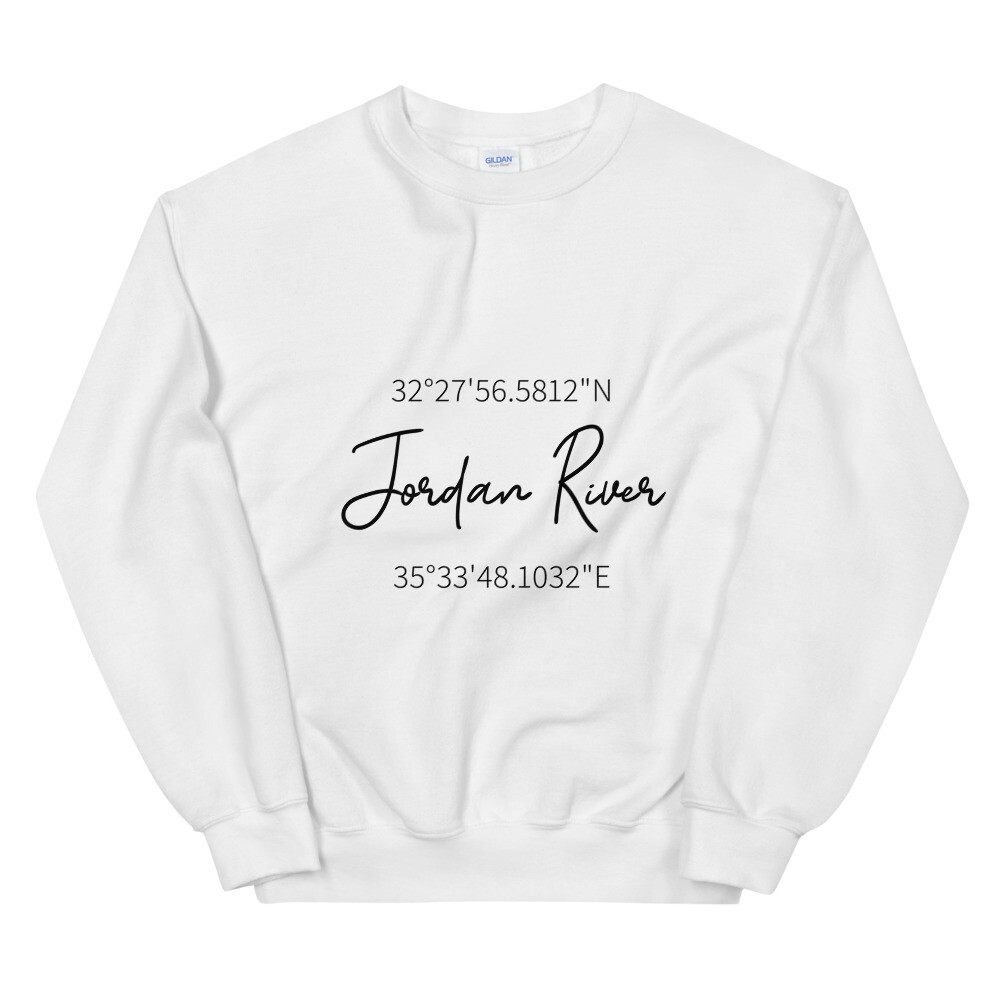 Jordan River Coordinates Sweatshirt - Pastel
