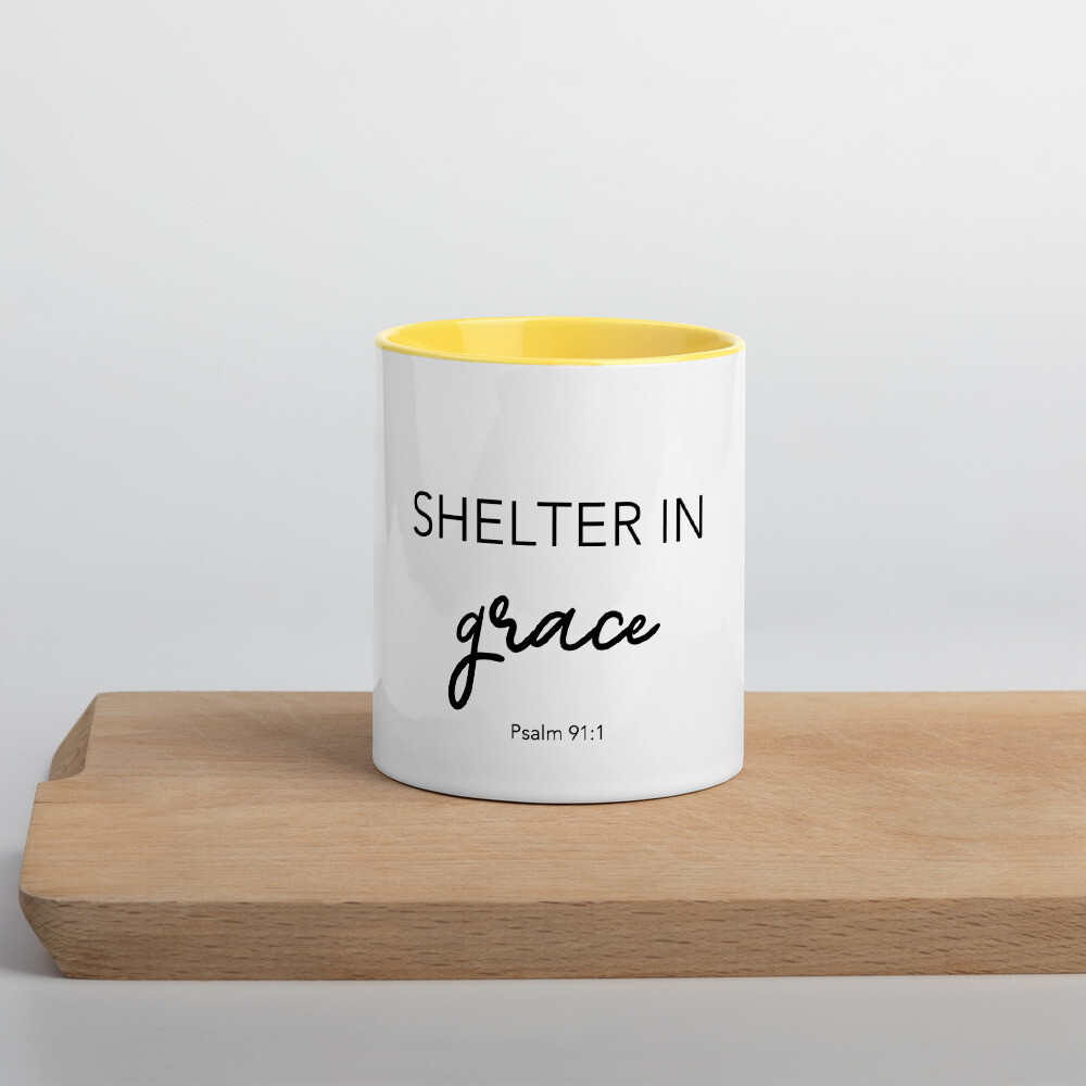"""Shelter In """"Grace"""" Mug"""