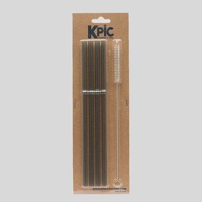 KPIC Plastic Straws - 4 Pack