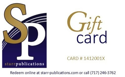 SP Gift Card -Load card for any amount; Cards ship free