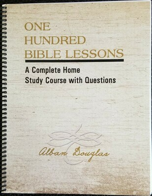 One Hundred Bible Lessons -Reprint ring bound letter size