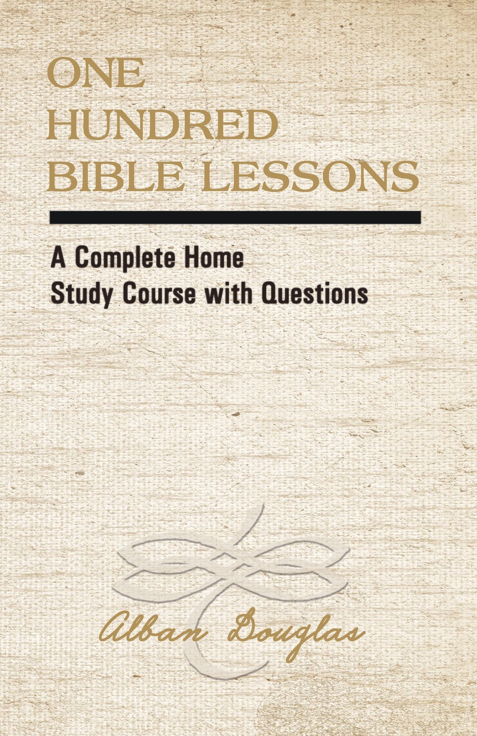 One Hundred Bible Lessons -Reprint perfect bound 5 1/2 x 7 size