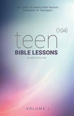 104 Teen Bible Lessons