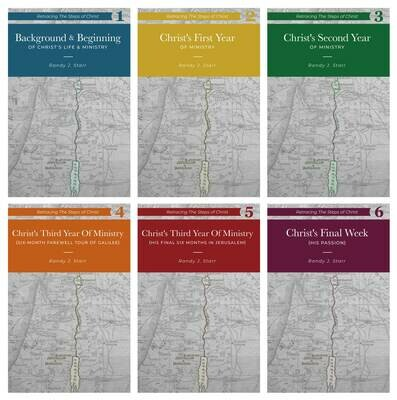 Retracing the Steps of Christ - 6 volume set