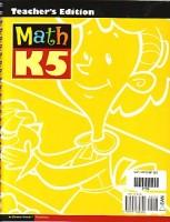Math Teacher Set Grd K5 (teacher Book and Cd) 3rd Edition