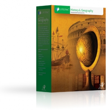 Lifepac Hist and Geog Grd 8 Set