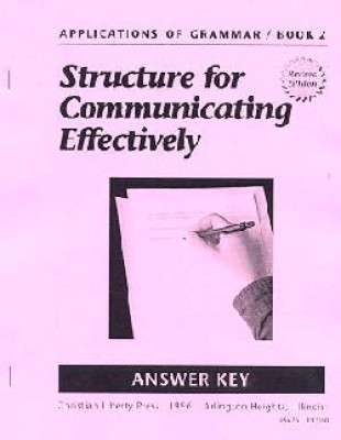 Applications Of Grammar Book 2 Answer Key