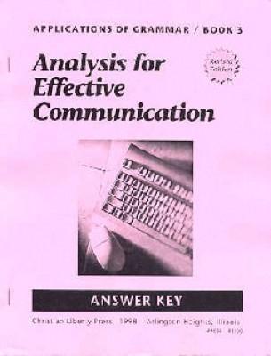 Applications Of Grammar Book 3 Test