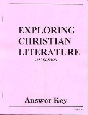 Exploring Christian Literature Test Pkt Gr 9
