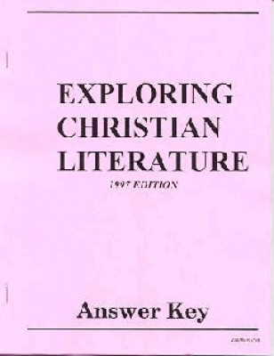 Exploring Christian Literature Answer Key Gr 9
