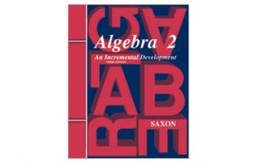 Saxon Algebra 2 Homeschool Kit 3rd Edition (11th Grade)