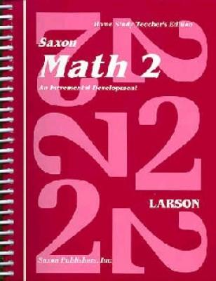 Saxon Math 2 Home Study Teachers Manual First Edition