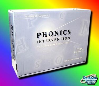 Saxon Phonics Intervention Classroom Material (Kindergarten - 3rd Grade)