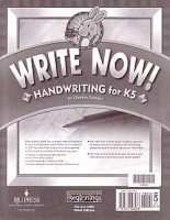 Beginnings Write Now Handwriting Grd K5 3rd Edition