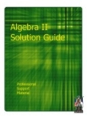 P955 Support - Algebra II Solutionguide