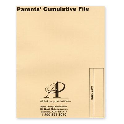 Lifepac Cumulative File (Kindergarten - 12th Grade)