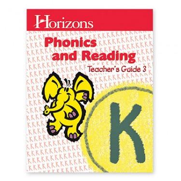 Horizons K Phonics and Reading 3 Teacher