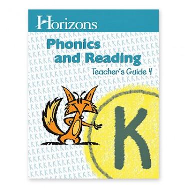 Horizons K Phonics and Reading 4 Teacher