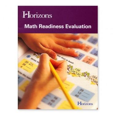 Horizons Math Evaluation Tests