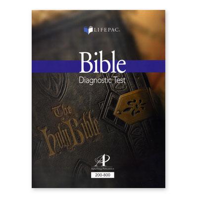 Lifepac Diagnostic Test Bible Grd 2-8