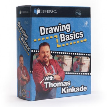 Drawing Basics With Thomas Kinkade Dvd Set
