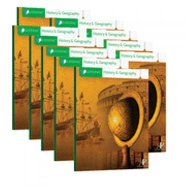 Lifepac Hist and Geo Grd 3 Student Bks (set of 10 Lifepacs)
