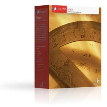 Lifepac Math Complete 7th Grd Set (Pre Algebra/Geometry)