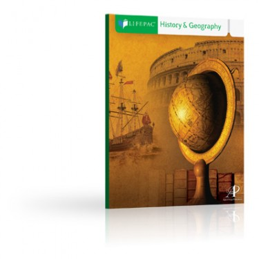 Lifepac Hist and Geo Grd 7 Student Bks (set Of 10 Lifepacs)