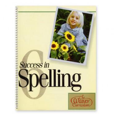 Weaver Success In Spelling Level 6 (grade 7-12)