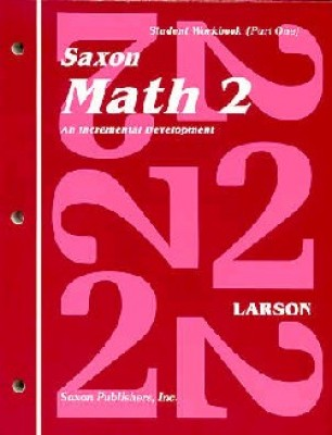 Saxon Math 2 1st Edition Student Workbook and Materials