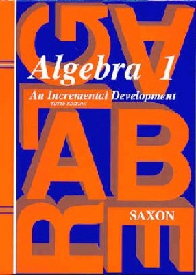 Saxon Algebra 1 Home Study Kit Third Edition (9th Grade)