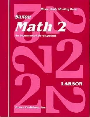 Saxon Math 2 Meeting Book First Edition
