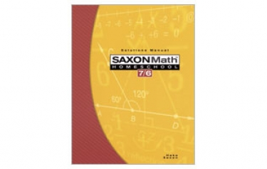 Saxon Math 76 Student Book 4th Edition (6th Grade)