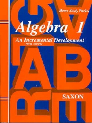 Saxon Algebra 1 Answer Key and Tests Third Edition (9th Grade)
