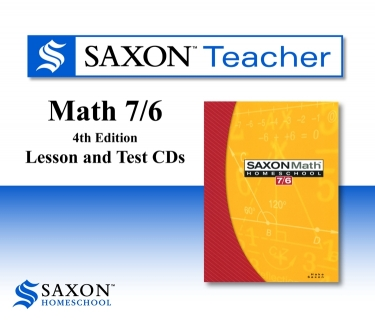 Saxon Math 76 Teacher CD-rom (6th Grade)