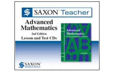 Saxon Advanced Math Teacher's CDs