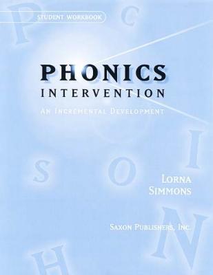Saxon Phonics Intervention Student Workbook (Kindergarten - 3rd Grade)