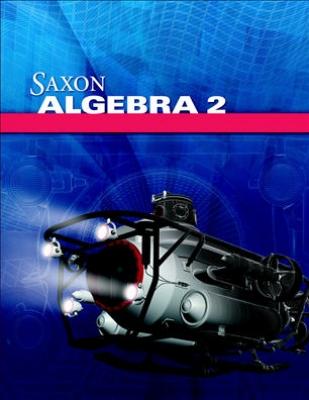 Saxon Algebra 2 Testing Book