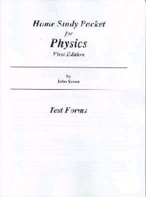 Saxon Physics Tests Only First Edition
