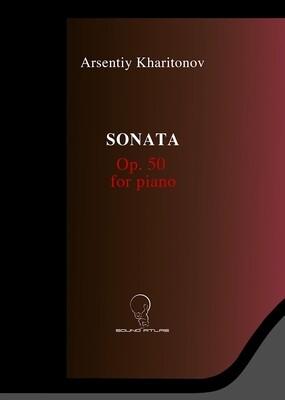 Sonata for Piano Op.50 (Digital Download PDF file)