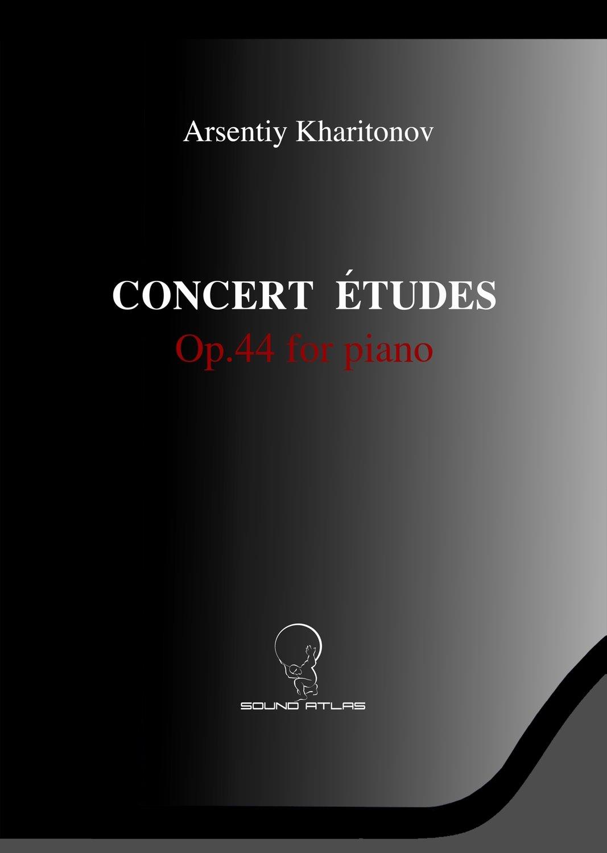 Concert Études for Piano Op.44         (Digital Download PDF file)