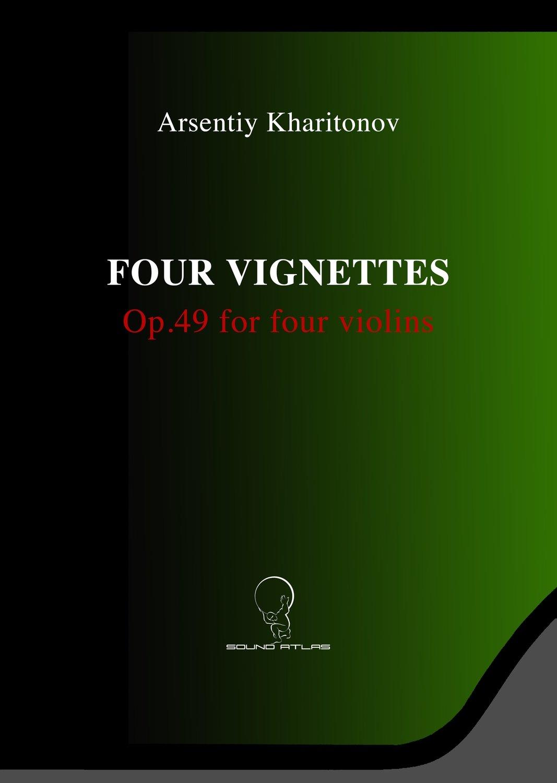 Four Vignettes Op.49 for Four Violins (Digital Download PDF file)